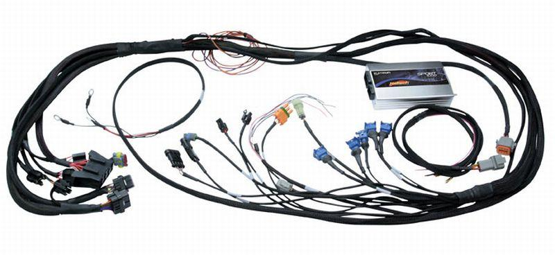Haltech Platinum PS1000 13B Fully Terminated Harness- flying lead ign harness. ECU Kit