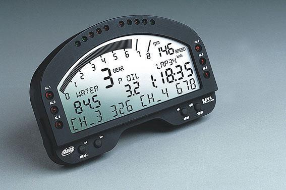 Haltech MXL Street - (Strada) Display only Dash includes GPS