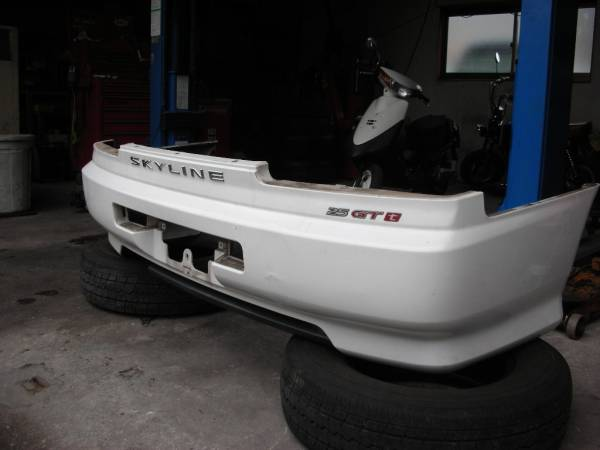 Nissan R34 Skyline Coupe Rear Bumper Bar