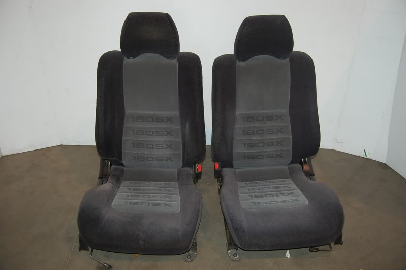 Nissan 180sx Type X Front Seats