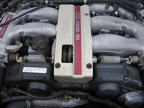 Nissan Z32 300zx VG30DETT Twin Turbo Engine