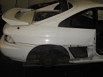 mr2 sw20 gen 3 3sgte half rear cut