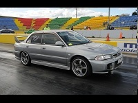 evo 3  drag car
