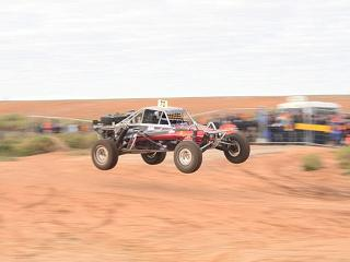 offroad buggy jump